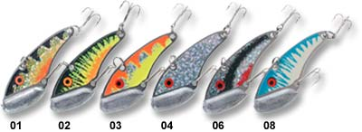 Blade Baits for River Walleye. - Warm Water Fishing Inland LP Lakes