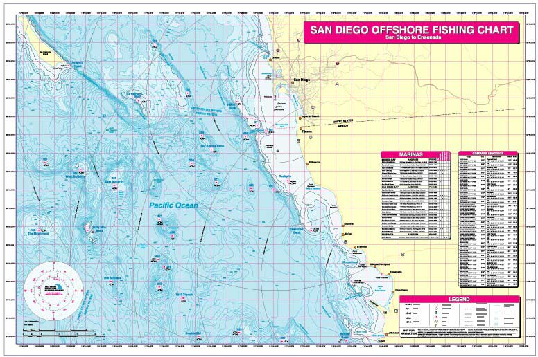 Fishing Hot Spots Saltwater Directions Charts For Maryland Bass - Fishing hotspot maps